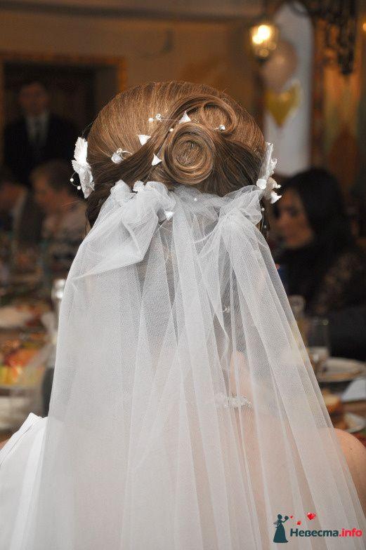 свадебная причёска из волос средней длинны - фото 85468 Свадебный стилист Татьяна Мартынова