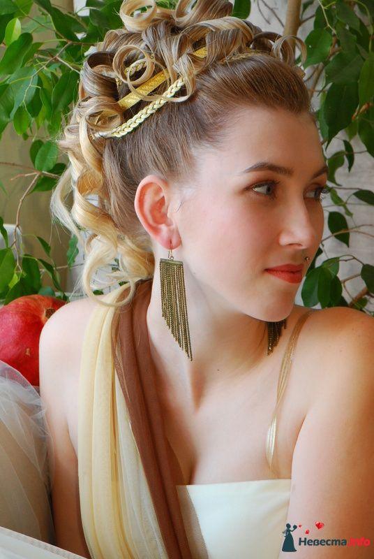причёска в греческом стиле - фото 85474 Свадебный стилист Татьяна Мартынова