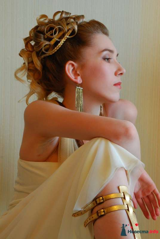 причёска в греческом стиле - фото 85475 Свадебный стилист Татьяна Мартынова