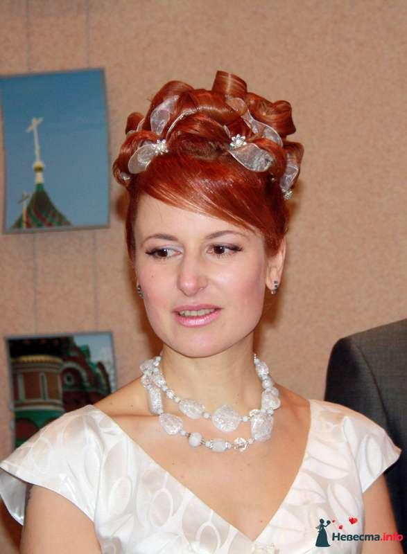 свадебная причёска на коротких волосах - фото 104629 Свадебный стилист Татьяна Мартынова