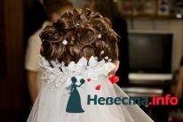 свадебная причёска из волос средней длинны - фото 123368 Свадебный стилист Татьяна Мартынова