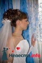 свадебная причёска из волос средней длинны - фото 123369 Свадебный стилист Татьяна Мартынова