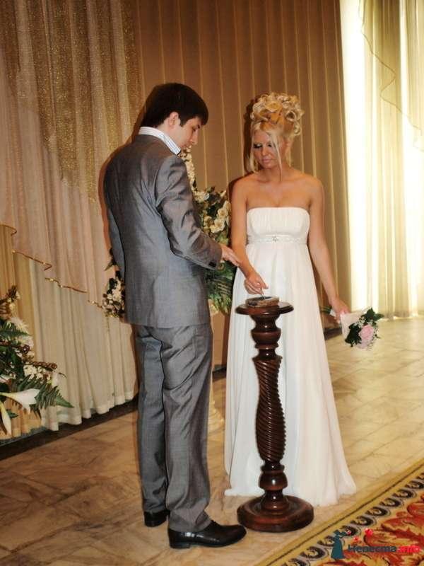 свадебная причёска из волос средней длинны - фото 123371 Свадебный стилист Татьяна Мартынова