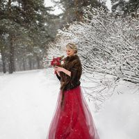Свадебный фотограф в Саратове Анна Полбицына, зимняя свадьба, love story зимой