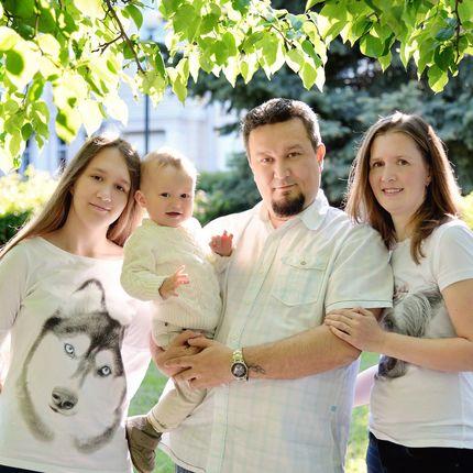 Семейная фотосъёмка, 30 минут