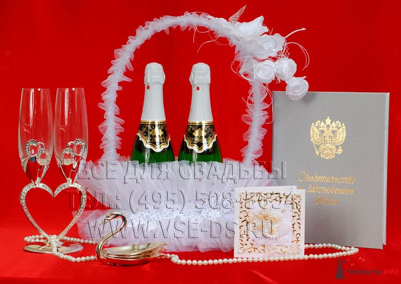 """В серебре - фото 78059 """"Все для свадьбы"""" - салон аксессуаров и услуг"""