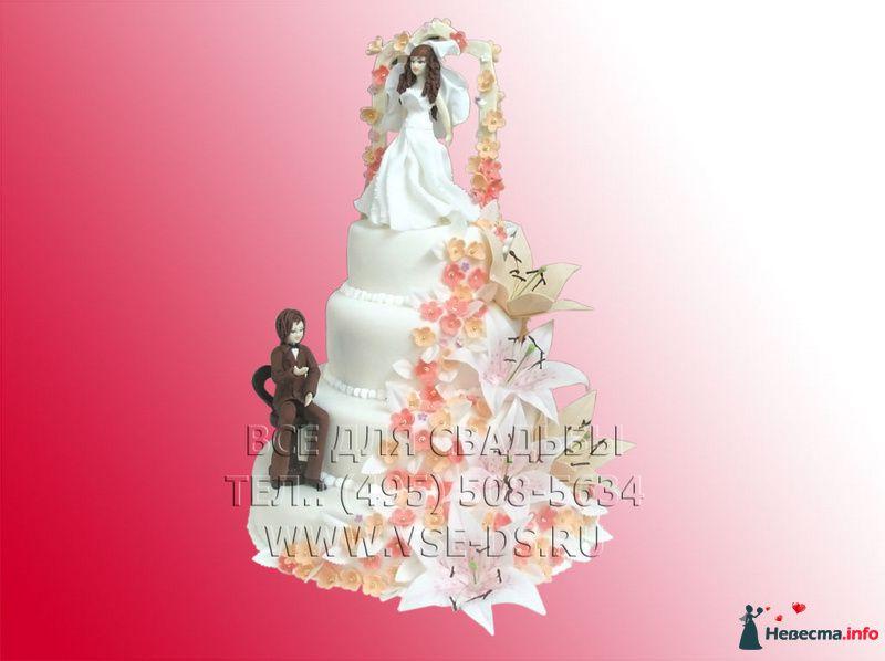 """Фото 81876 в коллекции Свадебные торты - """"Все для свадьбы"""" - салон аксессуаров и услуг"""