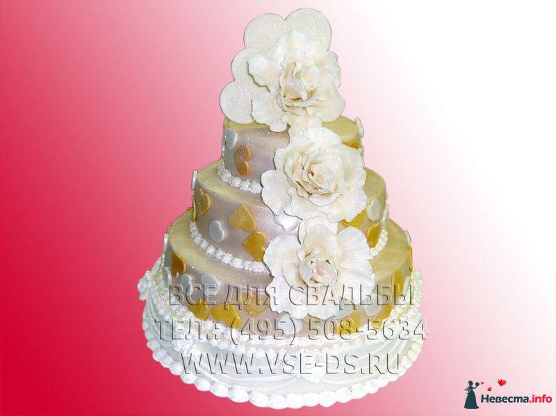 """Фото 81878 в коллекции Свадебные торты - """"Все для свадьбы"""" - салон аксессуаров и услуг"""