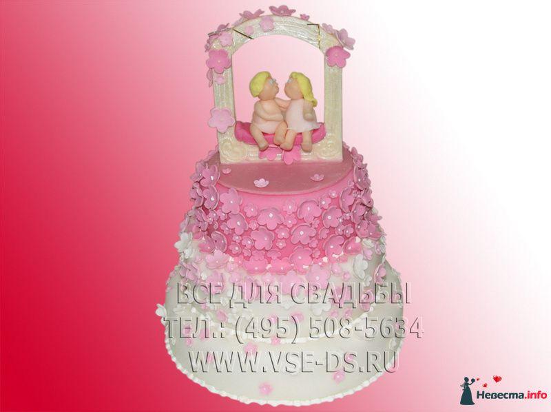 Фото 81879 в коллекции Свадебные торты