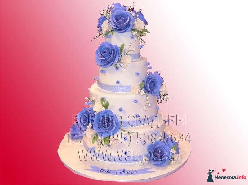 """Фото 81883 в коллекции Свадебные торты - """"Все для свадьбы"""" - салон аксессуаров и услуг"""