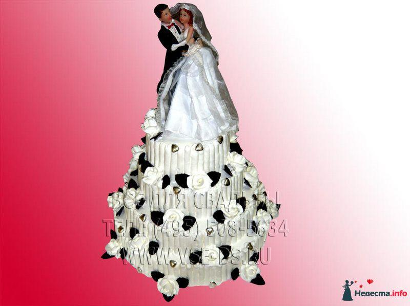 """Фото 99305 в коллекции Свадебные торты - """"Все для свадьбы"""" - салон аксессуаров и услуг"""