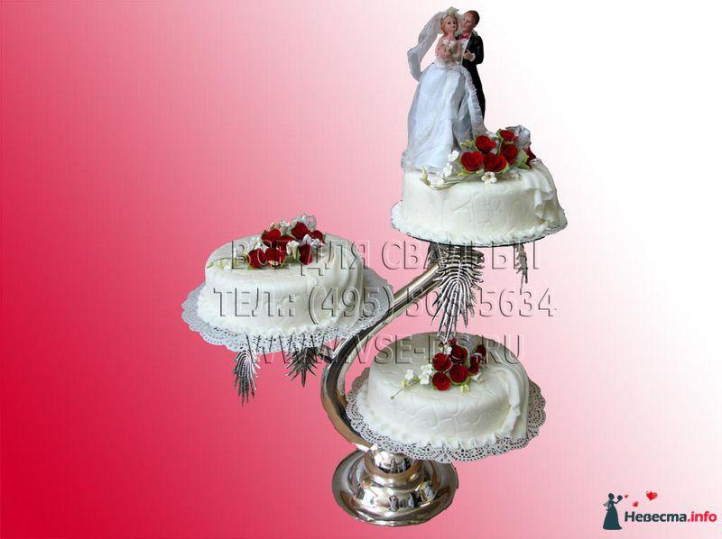"""Фото 99306 в коллекции Свадебные торты - """"Все для свадьбы"""" - салон аксессуаров и услуг"""