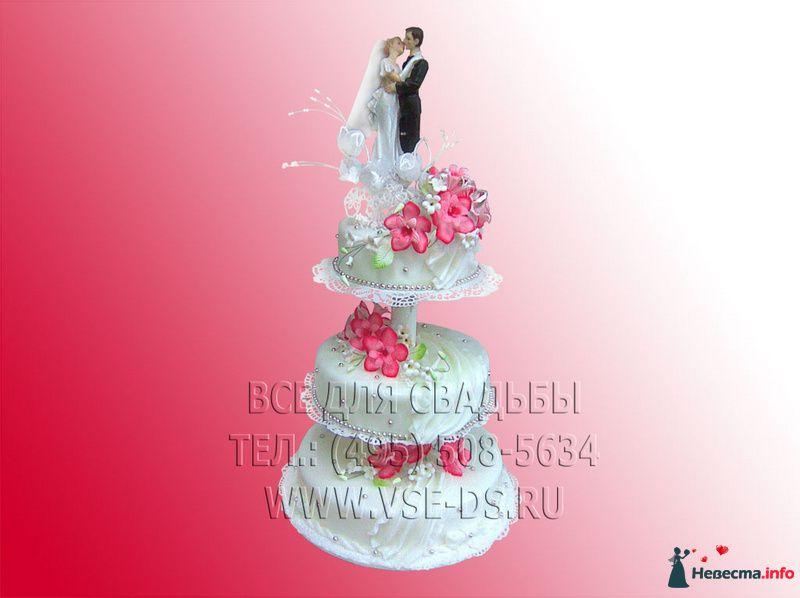 """Фото 99325 в коллекции Свадебные торты - """"Все для свадьбы"""" - салон аксессуаров и услуг"""