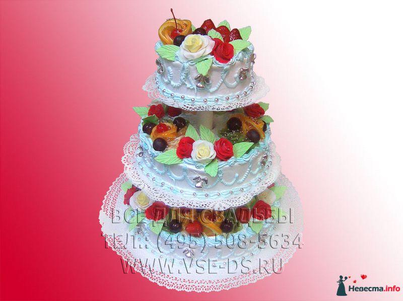 """Фото 99329 в коллекции Свадебные торты - """"Все для свадьбы"""" - салон аксессуаров и услуг"""