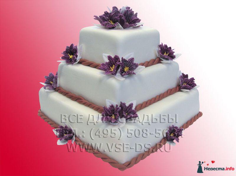 """Фото 99341 в коллекции Свадебные торты - """"Все для свадьбы"""" - салон аксессуаров и услуг"""