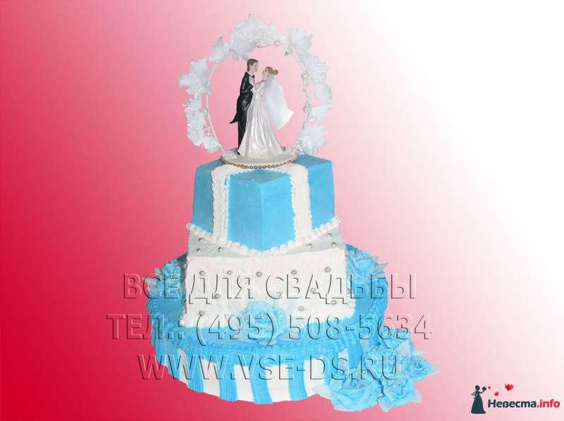 """Фото 99344 в коллекции Свадебные торты - """"Все для свадьбы"""" - салон аксессуаров и услуг"""