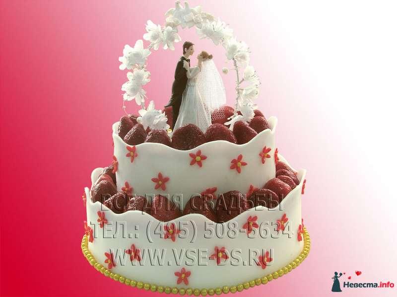"""Фото 99348 в коллекции Свадебные торты - """"Все для свадьбы"""" - салон аксессуаров и услуг"""