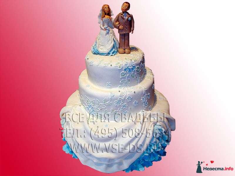 """Фото 99356 в коллекции Свадебные торты - """"Все для свадьбы"""" - салон аксессуаров и услуг"""