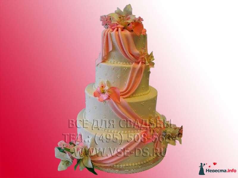 """Фото 99357 в коллекции Свадебные торты - """"Все для свадьбы"""" - салон аксессуаров и услуг"""