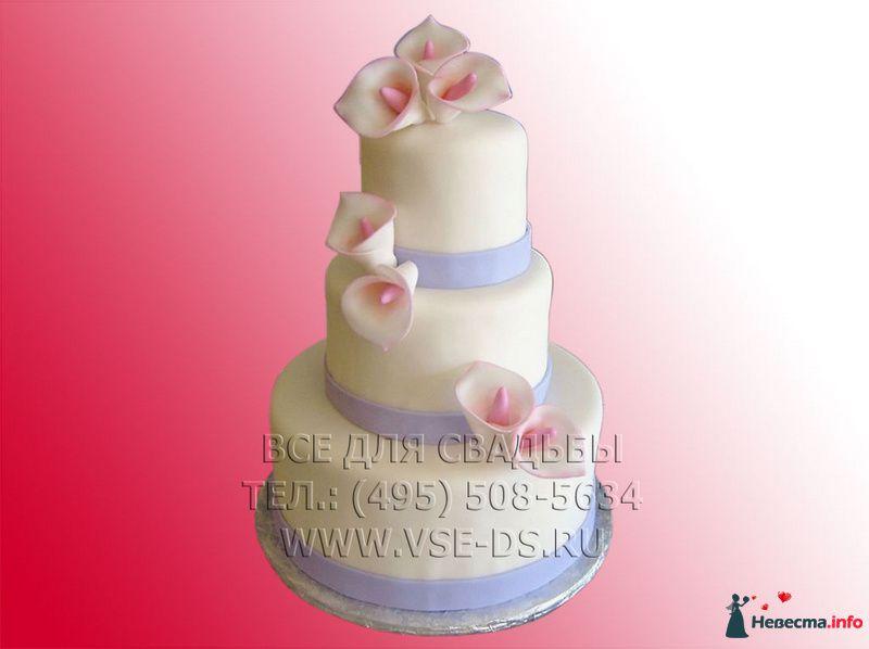"""Фото 99358 в коллекции Свадебные торты - """"Все для свадьбы"""" - салон аксессуаров и услуг"""