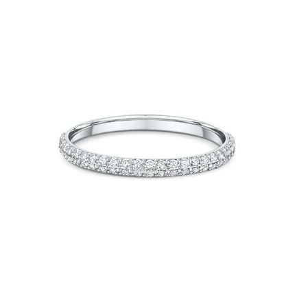 Обручальное кольцо с 50-ю бриллиантами. На заказ