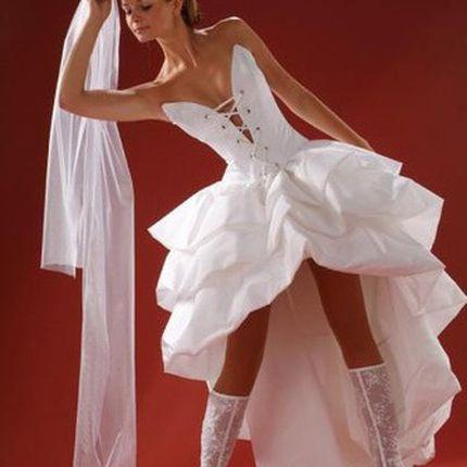 Отпаривание свадебных платьев на дому