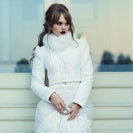 """Пальто для невесты """"Совершенная Мари"""""""