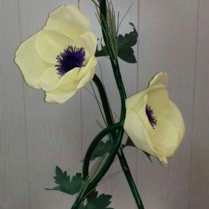 Аренда ростовой цветок Анемон