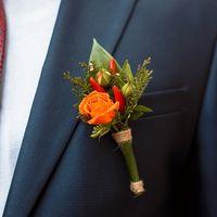 Яркий,солнечный букет невесты для красавицы Татьяны.