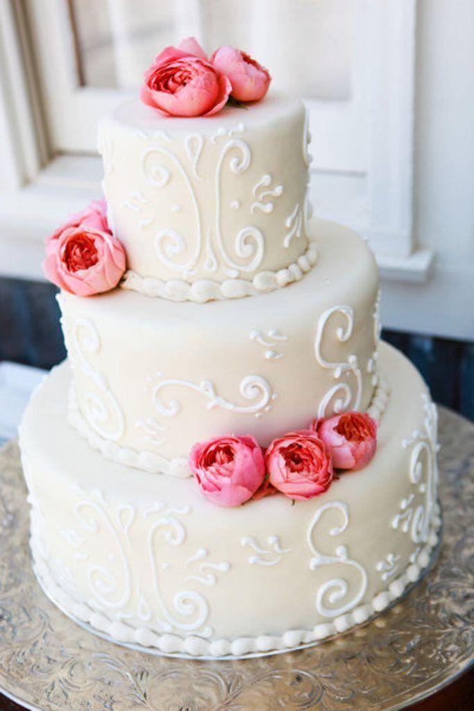 Фото 16473114 в коллекции Свадебный торт с Живыми цветами - Свадебное агентство Monte Carlo