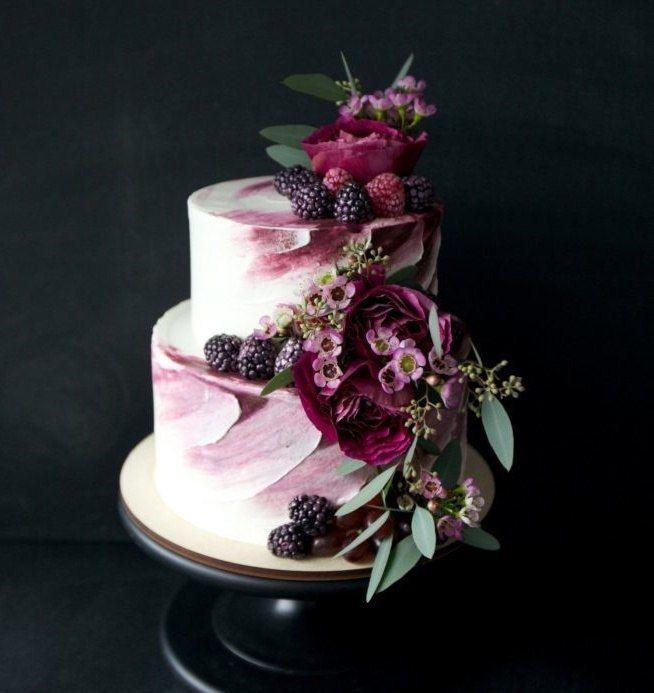 Фото 16473206 в коллекции Торты в Бордовом цвете - Свадебное агентство Monte Carlo