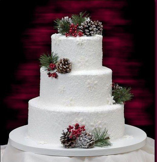 Фото 16473212 в коллекции Зимние торты - Свадебное агентство Monte Carlo