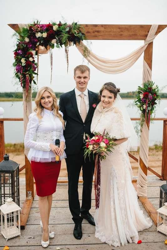Фото 16019188 в коллекции Свадебные церемонии - Ведущая церемоний Анастасия Бельтюкова