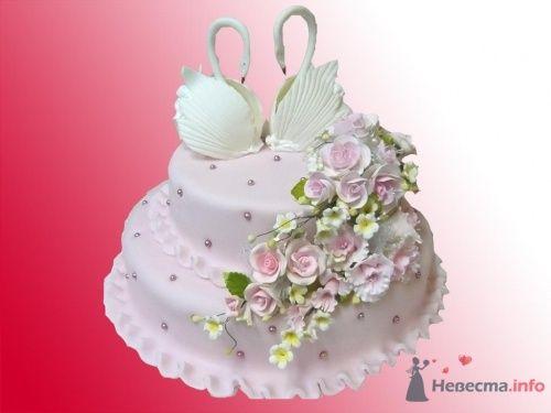свадебный тортик - фото 3265 Lesya