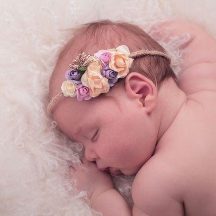 Фотосъёмка новорожденных и малышей до 3 месяцев