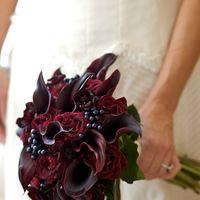 Каллы в букете невесты