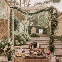 Свадьба, Италия, Джордж и Ксения