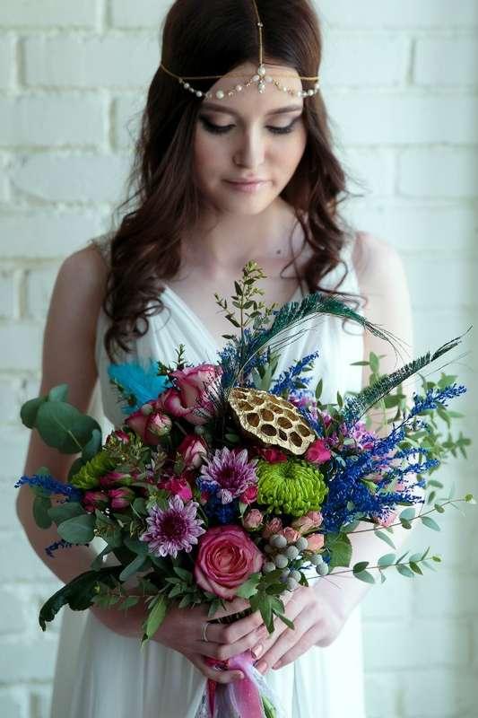 """букет невесты в Бохо стиле - фото 16283202 Студия событий """"Ваниль"""""""