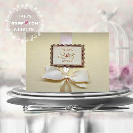 Свадебное приглашение (артикул 003) новинки