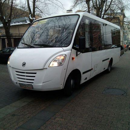 Аренда микроавтобуса, 29-местный