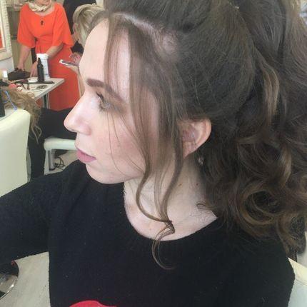 Причёска для гостьи