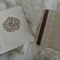 Комплект - книга пожеланий и папка для свидетельства