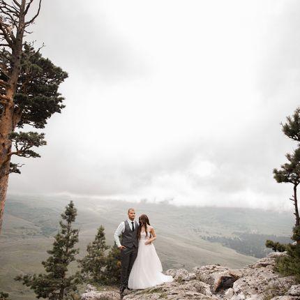 Фотосъёмка Love story - Свадьба в горах