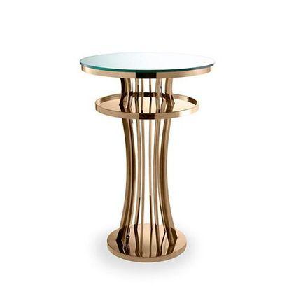 Барный столик золотой