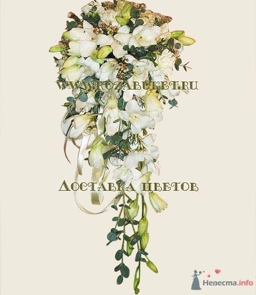 Ниспадающий букет невесты - фото 46000 Невеста01