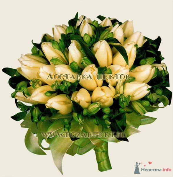 Букет невесты из тюльпанов - фото 46005 Невеста01