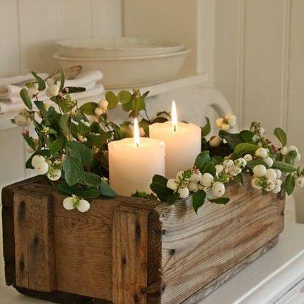Аренда ящика деревянного для декора