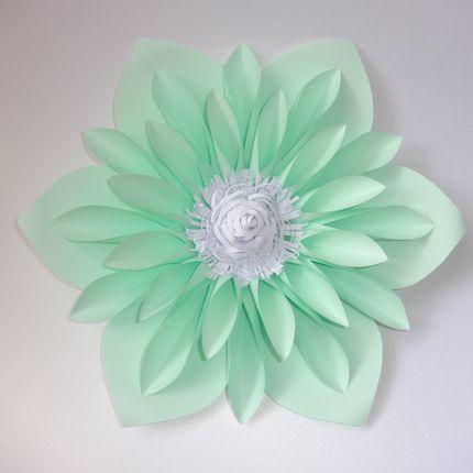 Цветок для декора Нежная мята