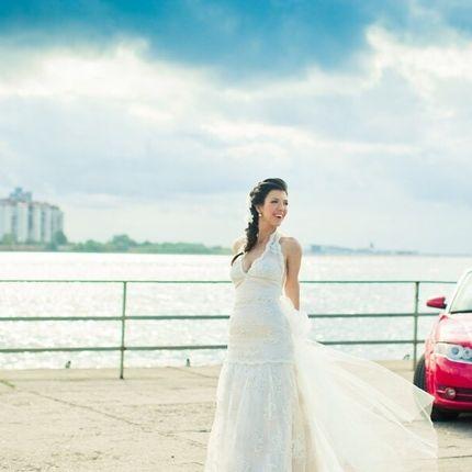 Свадебное/вечернее платье А-силуэт