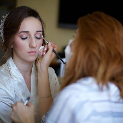 Пробный свадебный образ (макияж+прическа)